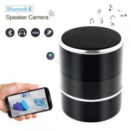 spy camera rotante nascosta in cassa Bluetooth