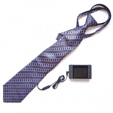 Telecamera nascosta in una cravatta