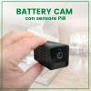 Telecamera con batteria integrata 3o giorni di autonomia